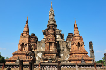 Old temple in Sukhothai
