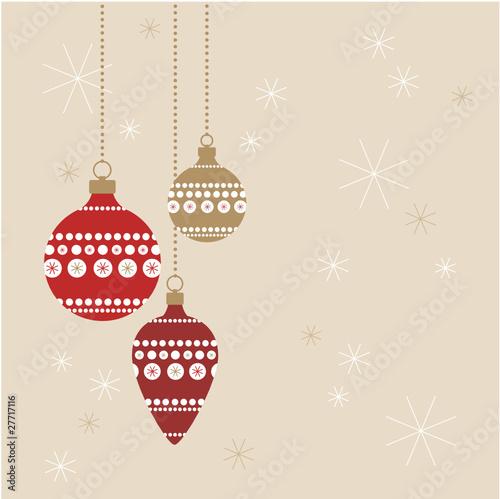 weihnachtskugeln rot gold auf fond stockfotos und. Black Bedroom Furniture Sets. Home Design Ideas