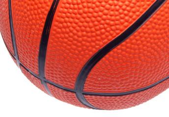 Basketball Close Up Border Image