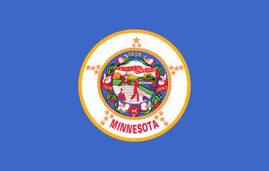 Wall Mural - Minnesota state flag