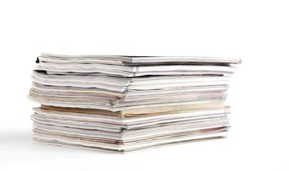 pile de magazines