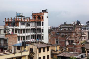 Kathmandu from rooftop