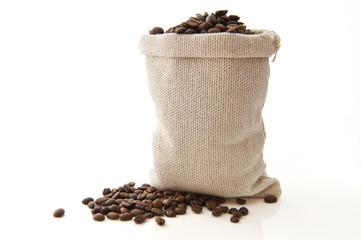 Canvas Prints Coffee beans Paquet de café