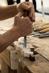intagliatore del legno