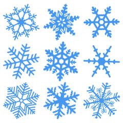 Schneeflocken Vector