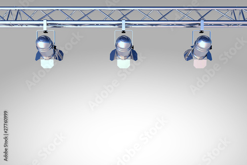 Chrome silver stage lighting stock photo and royalty free images chrome silver stage lighting mozeypictures Image collections