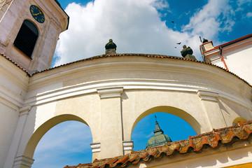 Baroque Arches of Church of the Holy Trinity - Tykocin / Poland
