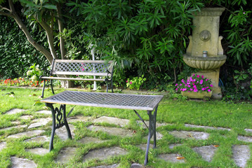Nice garden set