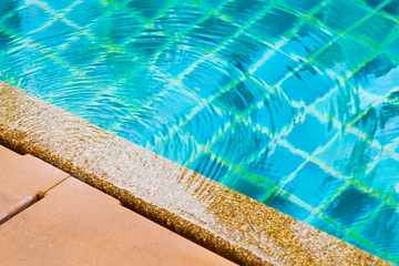 surface water on pool