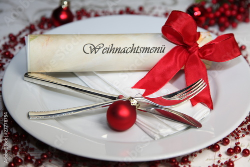 Weihnachtsmenü.Weihnachtsmenü Stock Photo And Royalty Free Images On Fotolia Com