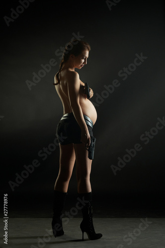 Quot Pregnant Tomb Raider Quot Stock Photo And Royalty Free Images