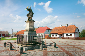 Monument to Stefan Czarniecki - Tykocin / Poland