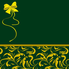 Green packaging for holiday gifts