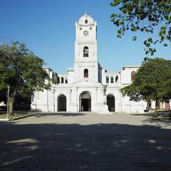 San José's Church, Parque Céspedes, Holguín, Cuba