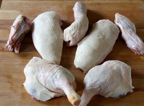 decoupe de canard gras