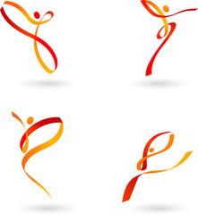 Dancing figures - 2