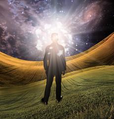 High Resolution Light of mind