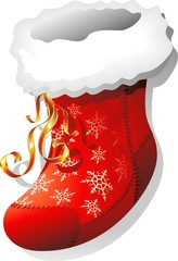 Poster Draw Calza di Natale-Christmas Stocking Swap-Vector
