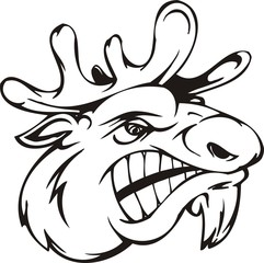 Deer.Mascot Templates.