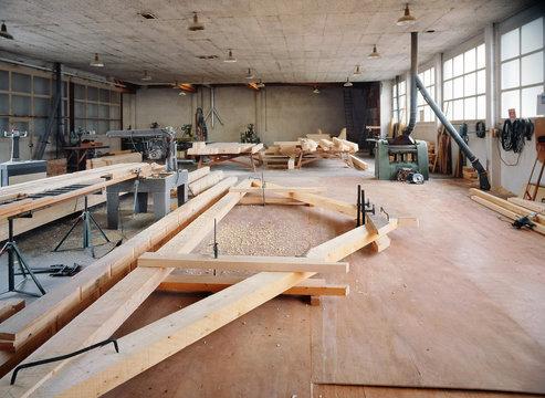atelier du charpentier