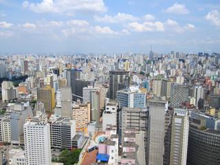 São Paulo, Brasilien - Aussicht vom Edificio Itália