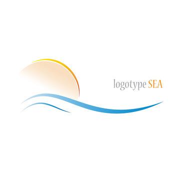 Logo seaside holidays