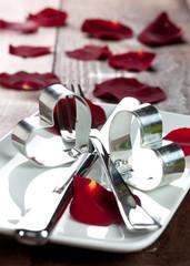 Essen zum Valentinstag