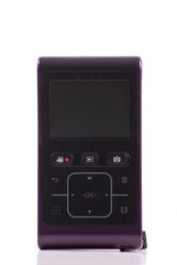 Controls of a Mini Digital Video HD Recorder