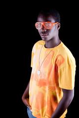 Afro amerocan teenager
