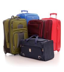 Suitcase isolated on white background