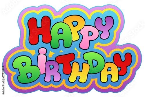 Happy Birthday Theme 1