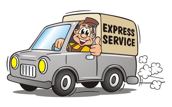 Express Service Van