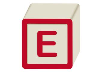 Letra E abecedario Infantil