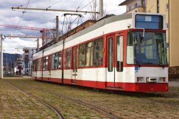 Modern European tramway