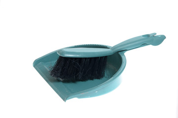 Clening tools - broom isolated