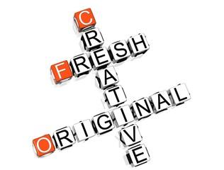 Fresh Creative Original Crossword