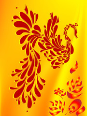 russian phoenix bird