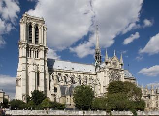 Paris,Notre Dame Cathedral