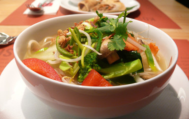 Thai-Gemüsesuppe