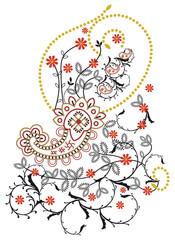 Kashmir floral