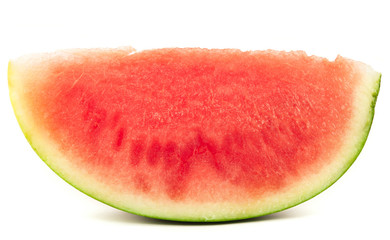 Organic slice of watermelon