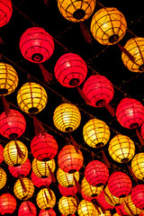 Traditional paper lanterns