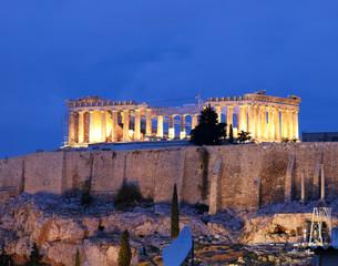 Parthenon, Athens Acropolis by night