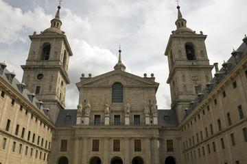 El Escorial Monastery - Basilica facade, Madrid