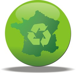 bouton france recyclable