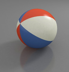 Colorful ball isolated
