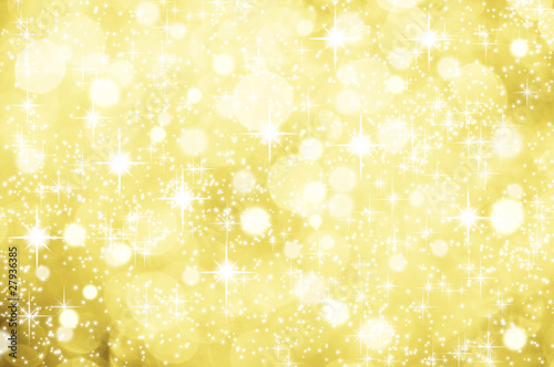 Weihnachtlicher hintergrund gold glitzer sterne schnee for Weihnachtlicher hintergrund