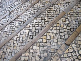 artfull pavement - kunstvolles Straßenpflaster