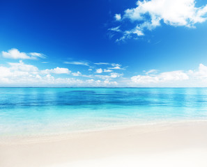 Fototapete - sea and sand