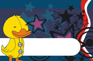 duck cartoon background